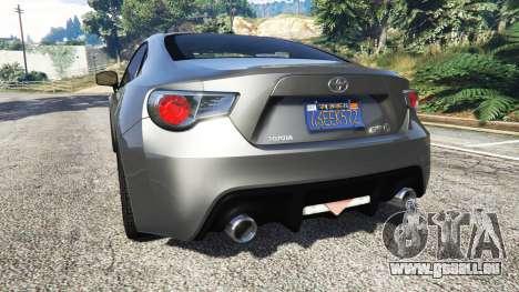 Toyota GT-86 v1.7 pour GTA 5