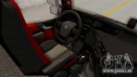 Volvo FM Euro 6 6x4 Tandem v1.0 für GTA San Andreas Rückansicht