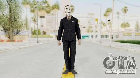 COD BO Nixon Anonymous für GTA San Andreas zweiten Screenshot
