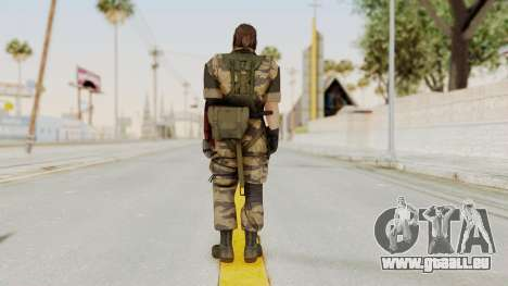 MGSV The Phantom Pain Venom Snake Tiger für GTA San Andreas dritten Screenshot