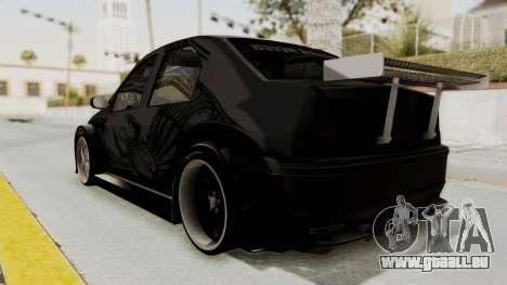 Dacia Logan Loco Tuning pour GTA San Andreas laissé vue