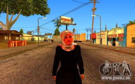 Iranian Girl pour GTA San Andreas