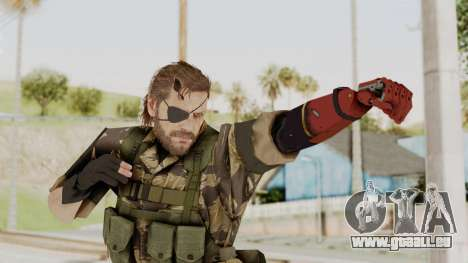 MGSV The Phantom Pain Venom Snake Tiger pour GTA San Andreas