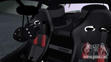 BMW M3 E46 JDM pour GTA San Andreas laissé vue