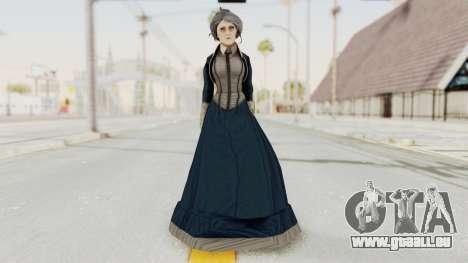 Bioshock Infinite Elizabeth Old für GTA San Andreas zweiten Screenshot