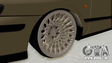 Mazda 626 Air für GTA San Andreas Rückansicht