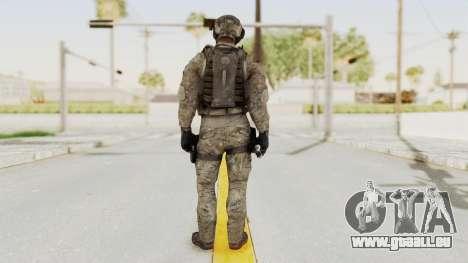 COD MW3 Delta Sandman Custom für GTA San Andreas dritten Screenshot