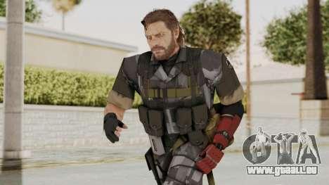 MGSV The Phantom Pain Venom Snake No Eyepatch v7 für GTA San Andreas