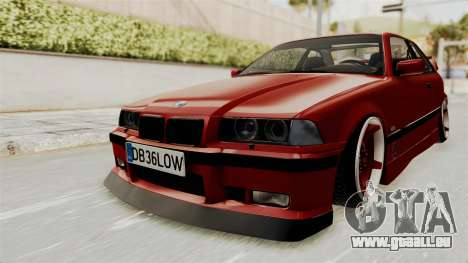 BMW 325i E36 Coupe pour GTA San Andreas