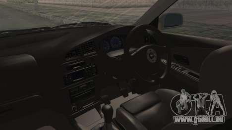 Mitsubishi Lancer Evolution VI Tenryuu Itasha für GTA San Andreas Innenansicht