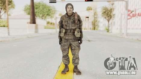 COD BO SOG Grigori Weaver für GTA San Andreas zweiten Screenshot