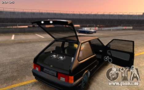 VAZ 2113 Final für GTA 4 hinten links Ansicht