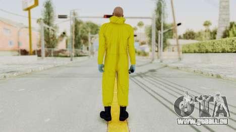 Walter White Heisenberg GTA 5 Style für GTA San Andreas dritten Screenshot