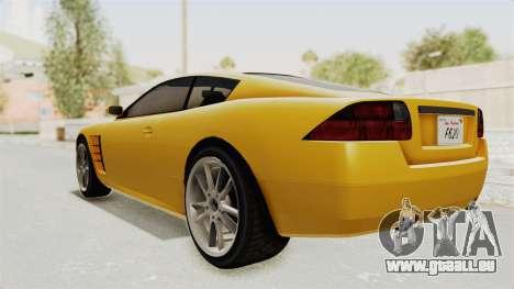 GTA 5 Ocelot F620 SA Lights pour GTA San Andreas vue de droite