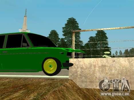 VAZ 2106 Shah für GTA San Andreas Rückansicht