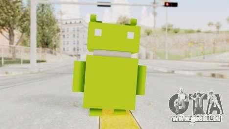 Crossy Road - Android Robot für GTA San Andreas zweiten Screenshot