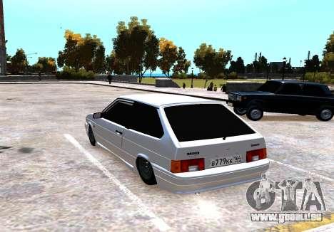 VAZ 2113 pour GTA 4 Vue arrière de la gauche