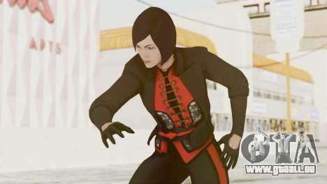 Batman Arkham Origins - Lady Shiva für GTA San Andreas