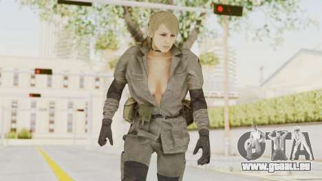 MGSV Phantom Pain Quiet Sniper Wolf pour GTA San Andreas