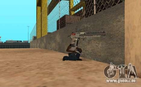 Desert Eagle Cyrex für GTA San Andreas her Screenshot
