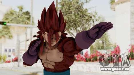 Dragon Ball Xenoverse Vegito SSJ4 pour GTA San Andreas