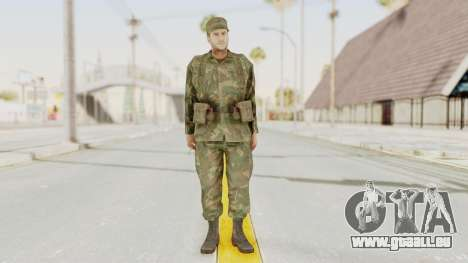 MGSV Ground Zeroes US Soldier Armed v2 für GTA San Andreas zweiten Screenshot