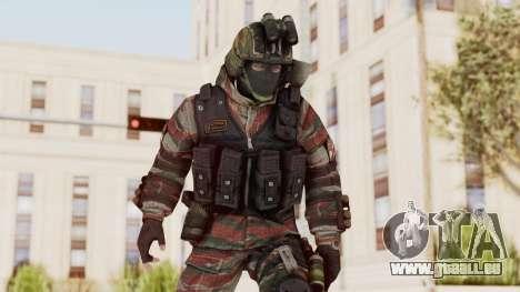 Battery Online Russian Soldier 5 v1 für GTA San Andreas
