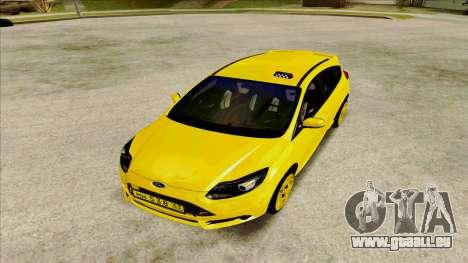 Ford Focus Taxi für GTA San Andreas