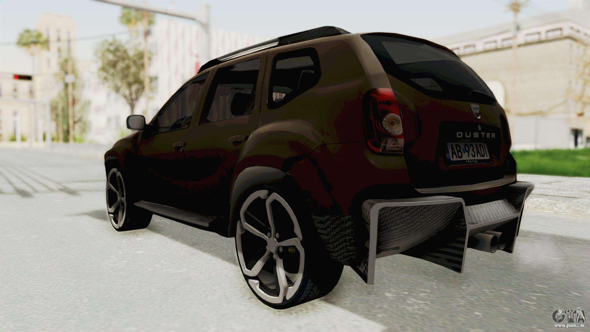 dacia duster 2010 tuning pour gta san andreas. Black Bedroom Furniture Sets. Home Design Ideas
