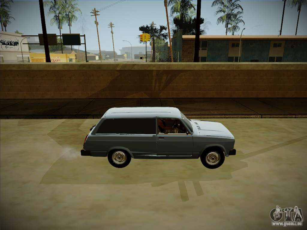 vaz 2104 avec un grand coffre pour gta san andreas. Black Bedroom Furniture Sets. Home Design Ideas