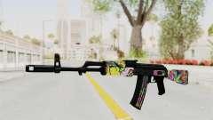 AK-47 Cannabis Camo