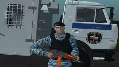 Un Policier Anti-Émeute