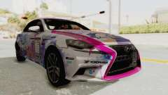 Lexus IS350 FSport Megami no Aqua