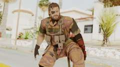 MGSV The Phantom Pain Venom Snake Golden Tiger