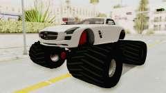 Mercedes-Benz SLS AMG 2010 Monster Truck