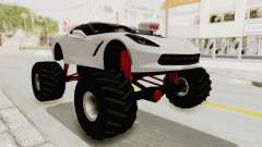 Chevrolet Corvette Stingray C7 Monster Truck