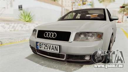 Audi A4 2002 Stock für GTA San Andreas