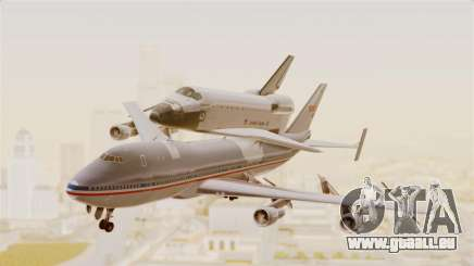 Boeing 747-123 Space Shuttle Carrier pour GTA San Andreas