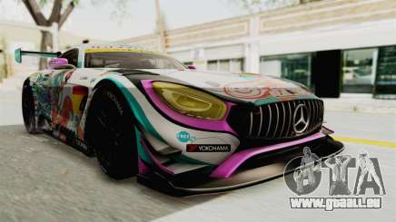 Mercedes-Benz SLS AMG GT3 2016 Goodsmile Racing pour GTA San Andreas