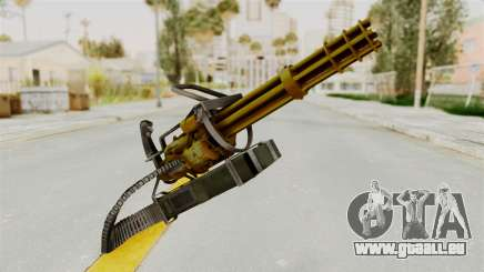 Minigun Gold pour GTA San Andreas