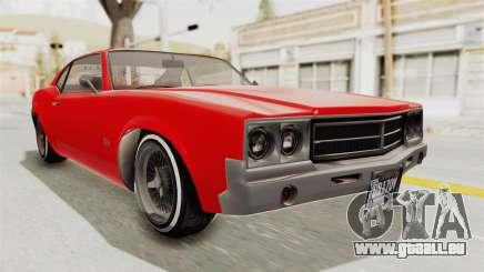 GTA 5 Declasse Sabre GT2 IVF für GTA San Andreas