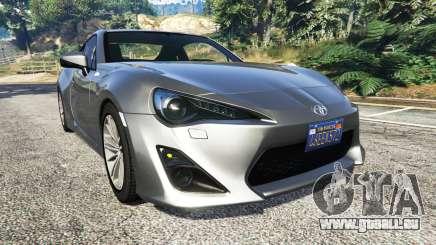 Toyota GT-86 v1.7 für GTA 5