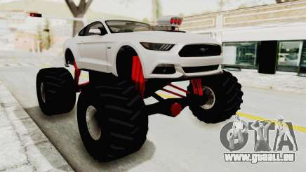 Ford Mustang GT 2015 Monster Truck für GTA San Andreas