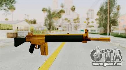 G3A3 Gold pour GTA San Andreas