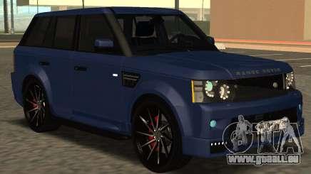 Range Rover Sport Tuning für GTA San Andreas