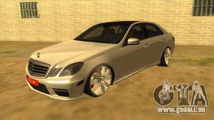 Mercedes-Benz E250 Behörde Tool für GTA San Andreas
