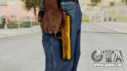 M1911 Gold für GTA San Andreas