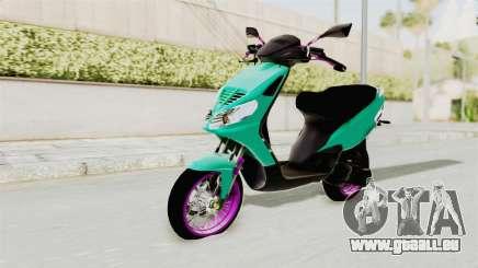 Piaggio 200 CC Lockstyle pour GTA San Andreas