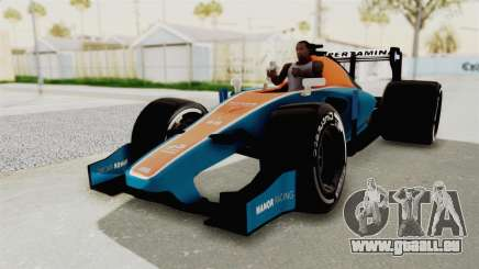 Rio Haryanto 88 F1 Manor Racing pour GTA San Andreas