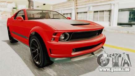 GTA 5 Vapid Dominator v2 SA Lights für GTA San Andreas